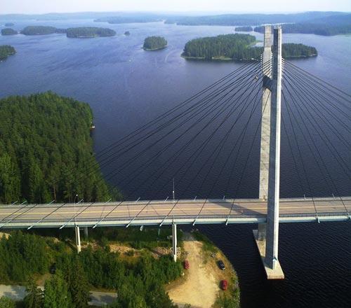 Kärskisensalmen silta, Korpilahti